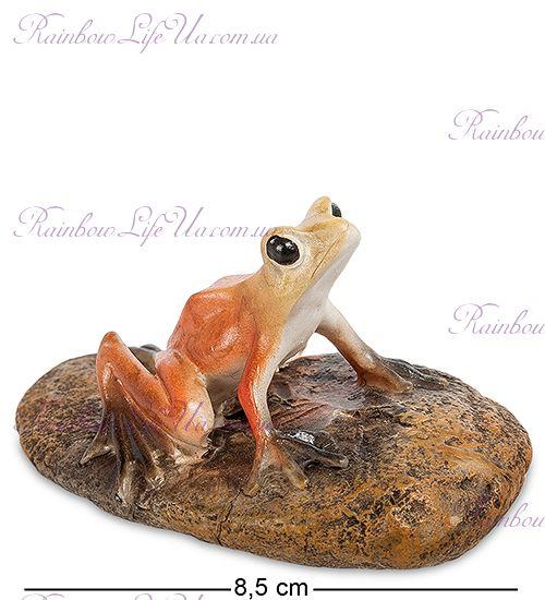 "Фигурка лягушка на камне ""ED"""