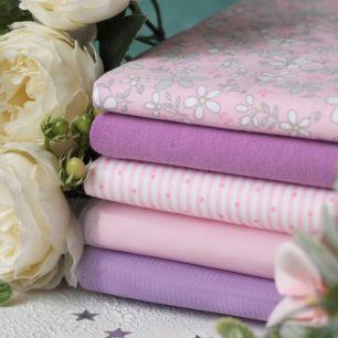 Набор тканей для творчества Розовая весна