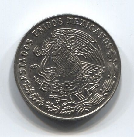 20 сентаво 1975 года Мексика
