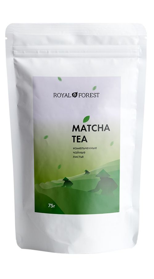 Зеленый порошок чая матча Royal Forest