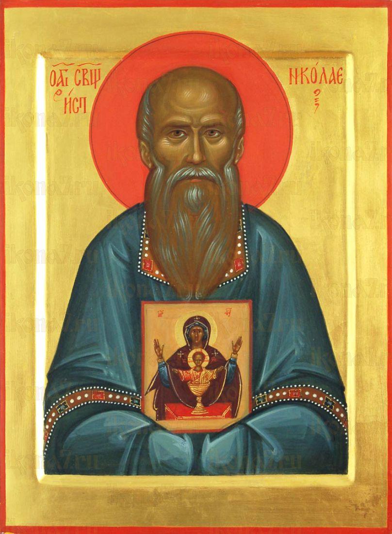 Икона Николай Власьевский священномученик