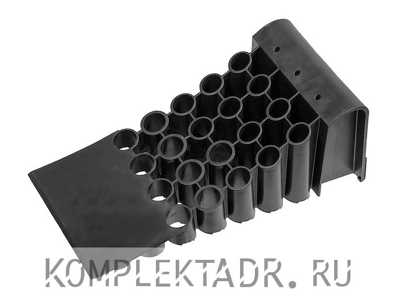 Противооткатный упор 200 мм черный
