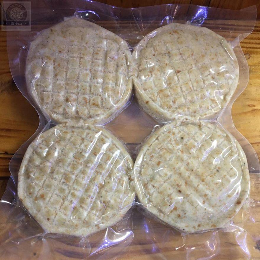 Котлеты из Трески натуральные.Упаковка 500 гр -4 штуки