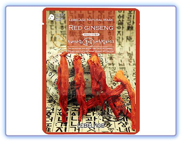 Lebelage Red Ginseng Natural Mask