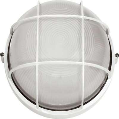 Светильник НПП 1302 60Вт E27 IP54 белый круг