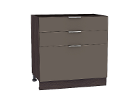 Шкаф нижний Терра Н803 (Смоки софт)