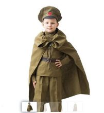 Детская военная плащ-палатка, 5-7 лет к 9 мая