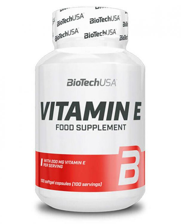 Vitamin E от BioTech USA 100 капсул