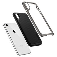 Купить чехол SGP Spigen Neo Hybrid для iPhone XR стальной: купить недорого в Москве — выгодные цены в интернет-магазине противоударных чехлов для телефонов айфон 10 R — «Elite-Case.ru»