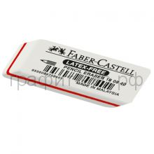 Ластик Faber-Castell Latex-Free белый скошенный 180840