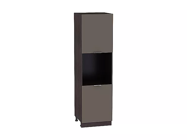 Шкаф-пенал под бытовую технику Терра ШП600H (Смоки софт)
