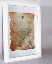 Клятва Гиппократа - прекрасный сувенир медицинскому работнику.