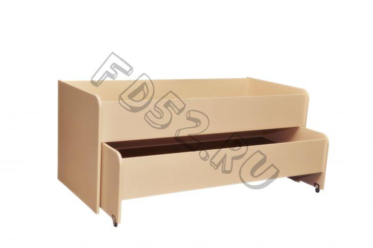Кровать детская раздвижная 2 яруса «МАТРЕШКА»