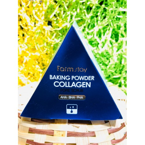 Скраб для лица Farmstay Baking Powder Collagen Pore Scrub, 1 ШТ