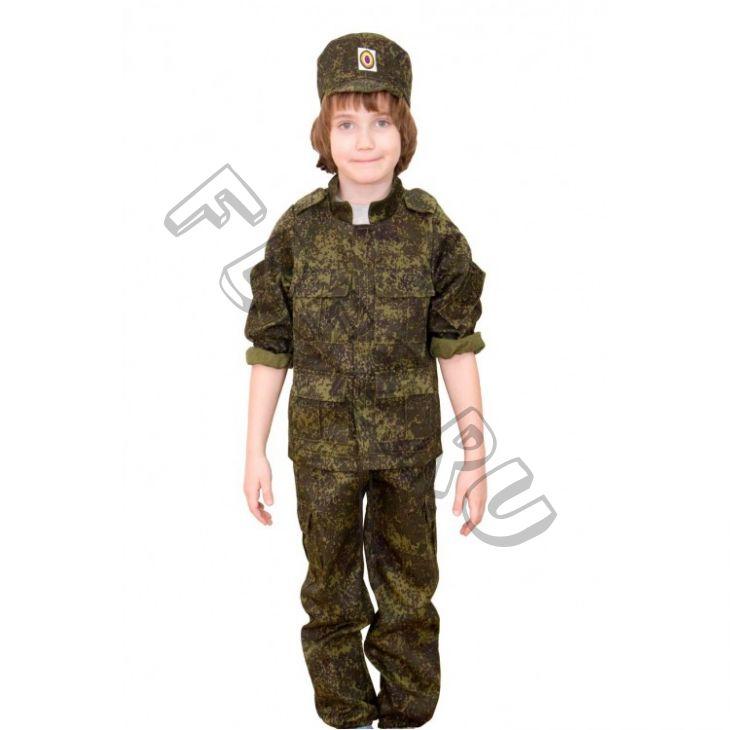Костюм военного (куртка,брюки. кепка) КС294