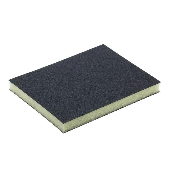Sia 7983 Siasponge soft Губка двусторонняя 98мм. х 120мм. х 13мм., microfine, P1200, белая