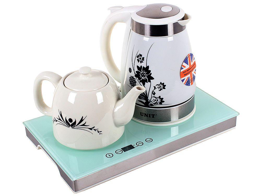Чайный набор UNIT UEK-252 Белый