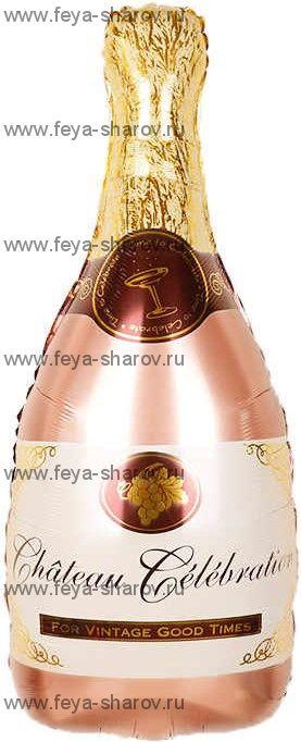 Шар бутылка Шампанского 81 см