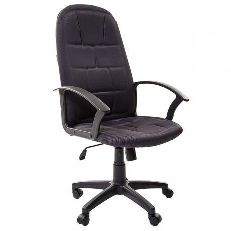 Кресло руководителя Chairman 737 PL, TW-12 ткань серая, механизм качания