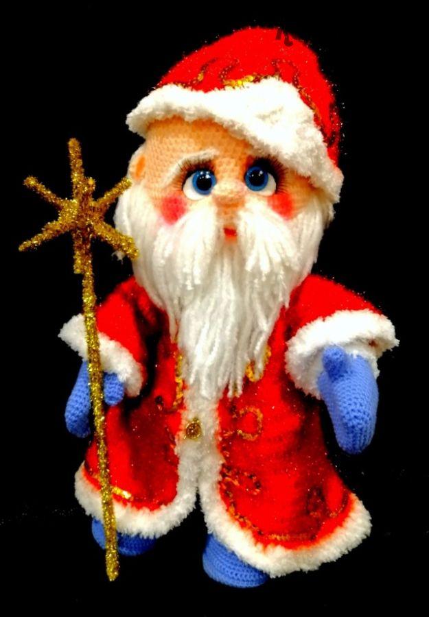 [Игрушки] Дед Мороз (Алла Маслова)