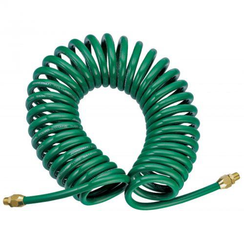 JAZ-7214E Шланг спиральный для пневмоинструмента, 5 мм х 8 мм х 8 м