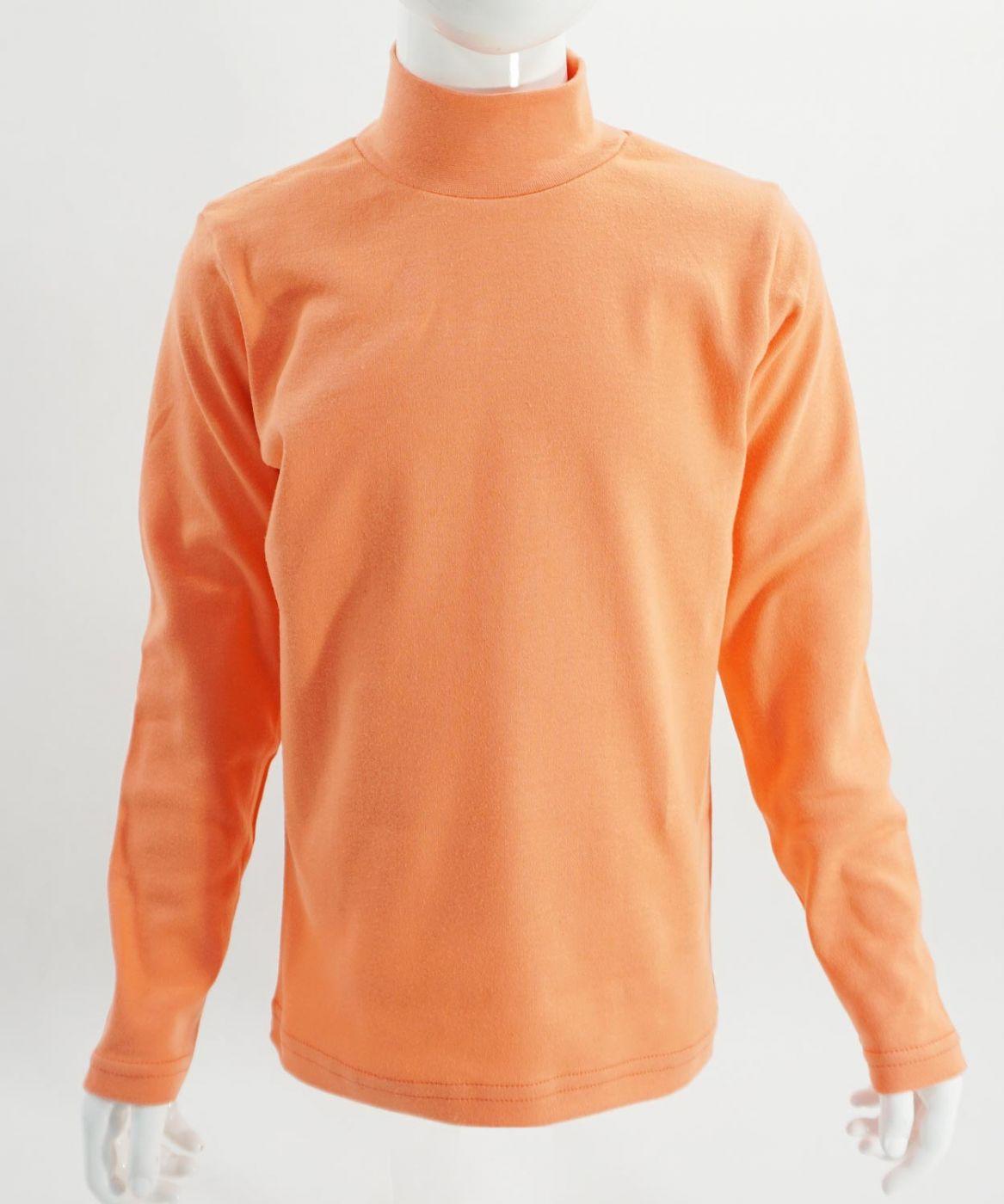"""Детская однотонная водолазка """"Bonito kids"""" оранжевая"""