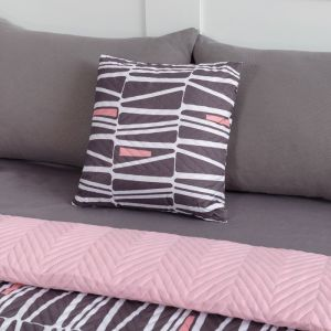 Подушка декоративная Экономь и Я «Мегаполис» 40?40 см, 100% полиэстер