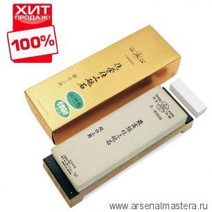 Заточной абразив 8000 Suehiro 206х73х23мм на подставке, с нагурой/бамбуковый цвет Suehiro М00014379 ХИТ!