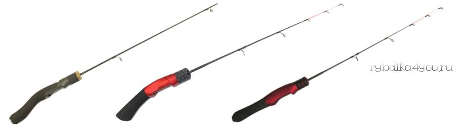 Зимняя удочка Kaida Skyrocket soft 65 см красная ручка (Артикл : SKYROCKET-650)