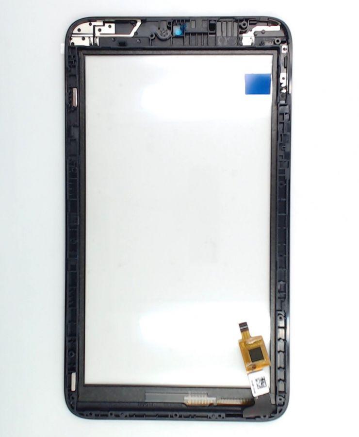 Тачскрин Alcatel I216X Pixi 7 3G (в раме) (black) Оригинал