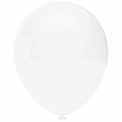 """Белый, пастель, 12"""", 50 шт (Турция, Орбиталь)"""