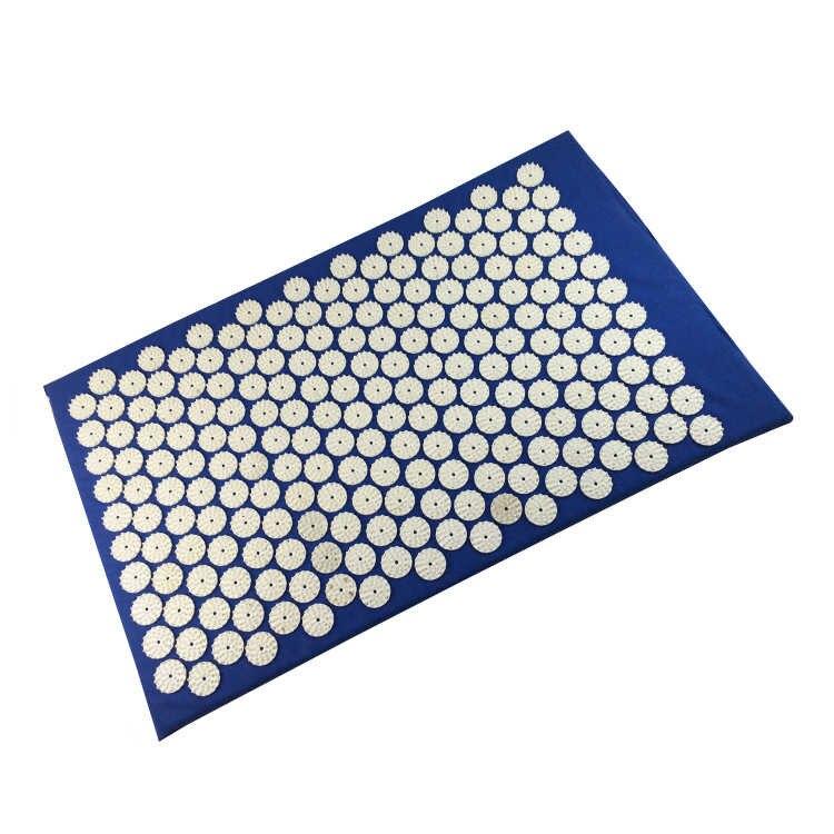 Акупунктурный массажный коврик Acupressure Mat (цвет синий)