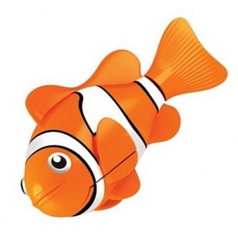 Интерактивная игрушка Роборыбка Клоун (Robo Fish), оранжевая