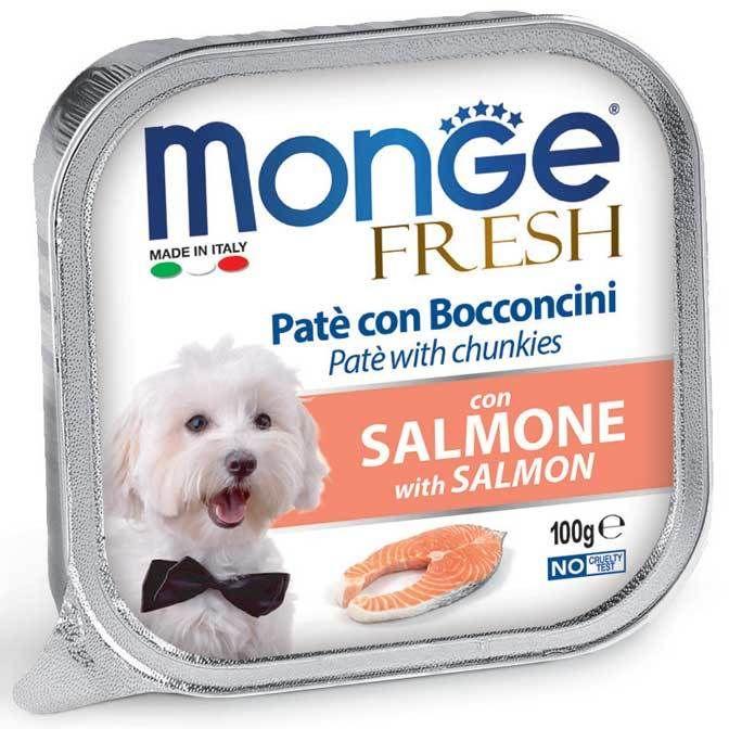 Monge Dog Fresh консервы для собак лосось 100 гр.