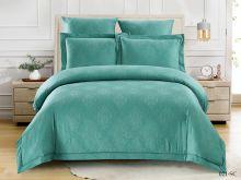 Постельное белье Soft cotton Лен- жаккард 2-спальный Арт.21/021-SC