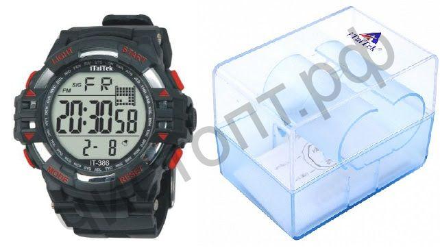 Часы наручные iTaiTek IT-386 (ОРАНЖЕВЫЙ)