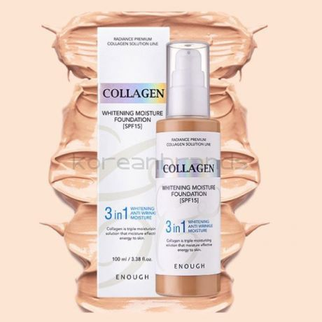 Enough Collagen Whitening Moisture Foundation 3 in 1 SPF 15