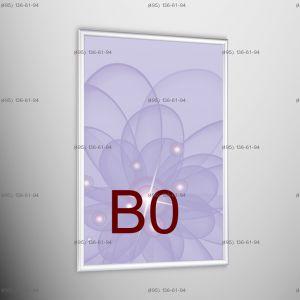 Световая панель Frame LED Framelight Classic (фреймлайт), односторонняя, формат B0, 1000х1400 мм