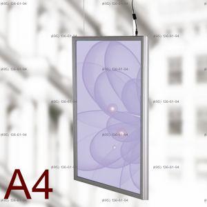 Световая панель Frame LED Framelight Classic (фреймлайт), двусторонняя, формат A4, 210х297 мм