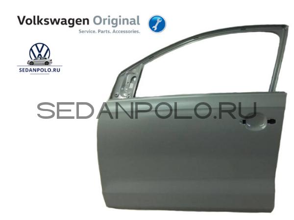 Дверь передняя левая Оригинал Volkswagen Polo Sedan