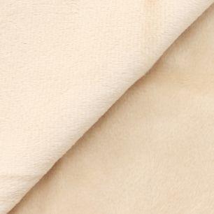 Ткань плюш песочный 48х48 см