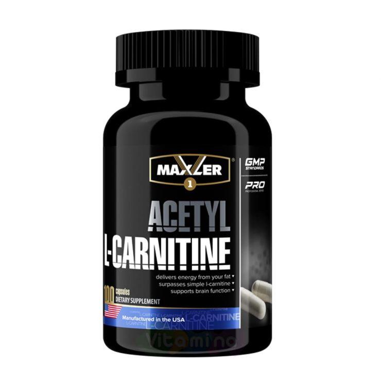 Maxler Ацетил Л-Карнитин Acetyl L-Carnitine, 100 капс