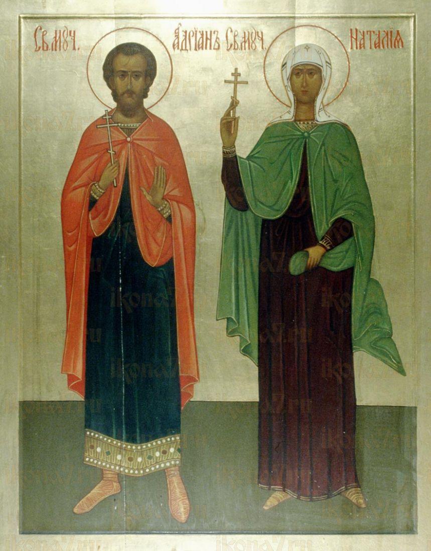 Икона Адриан Никомидийский мученик