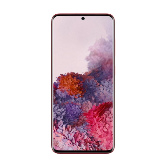 Samsung Galaxy S20 (красный)
