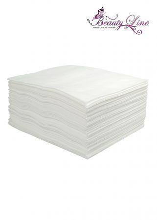 Полотенца одноразовые белые 45/90 - плотность 50 - 50 штук