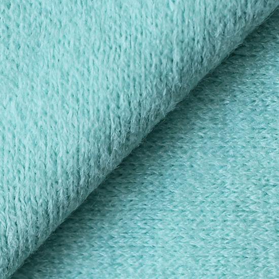 Лоскут трикотажной ткани Мятный Ангора  50х30 см УЦЕНКА