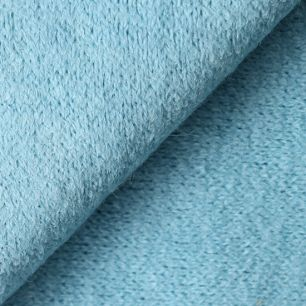 Лоскут трикотажной ткани Голубой Ангора 50х30 см