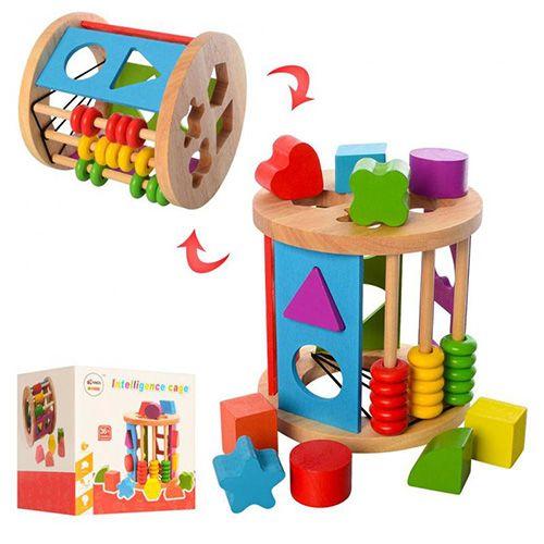 Развивающая игрушка Сортер  Intellingence cage
