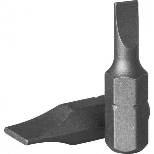 """D125F6512A Бита 1/4"""" шлиц 1,2 х 6,5 мм, 25 мм, S2 материал"""