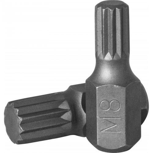 D10M30M06A Бита 10 мм Spline, М6, 30 мм, S2 материал